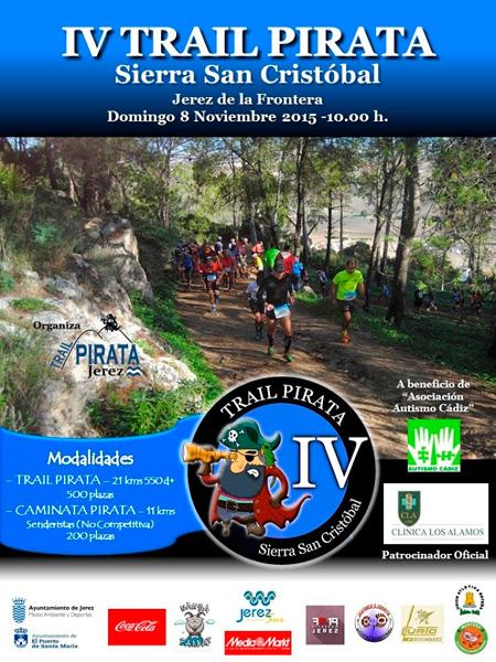 Carrera IV Trail Pirata Sierra San Cristóbal