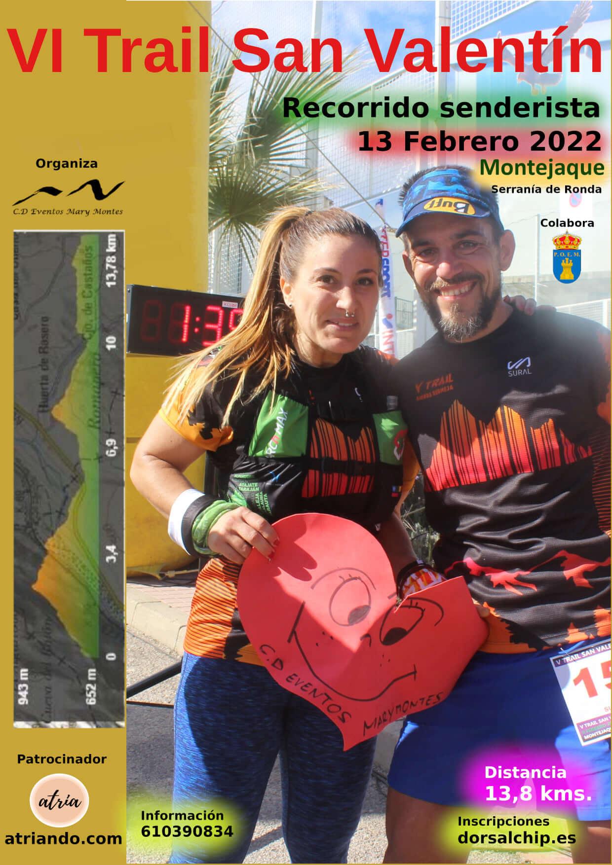 VI Trail San Valentín
