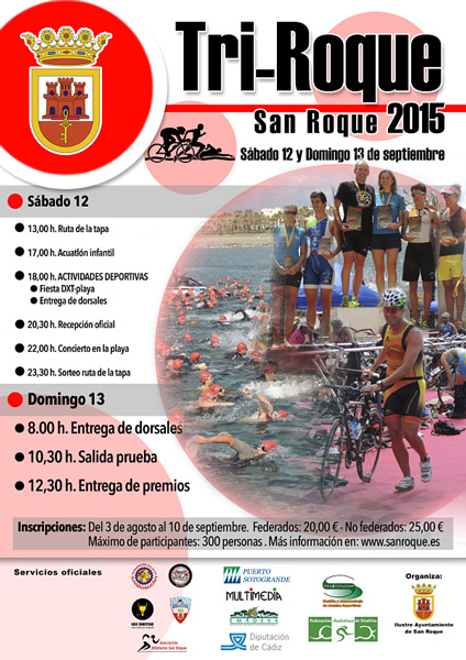 Carrera III Triatlón San Roque