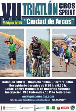 Carrera VII Triatlon Cros Ciudad de Arcos