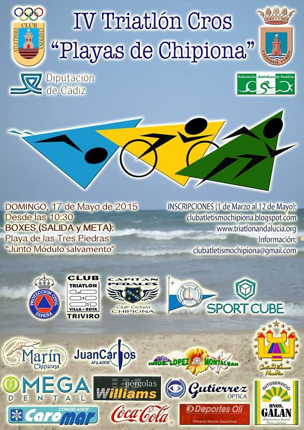 IV Triatlón Cros Playas de Chipiona