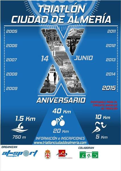 Carrera X Triatlón Sprint Ciudad de Almería