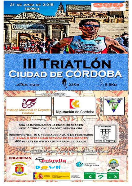 Carrera III Triatlón Ciudad de Córdoba