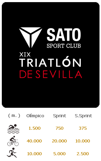 Carrera XIX Triatlón Super Sprint de Sevilla