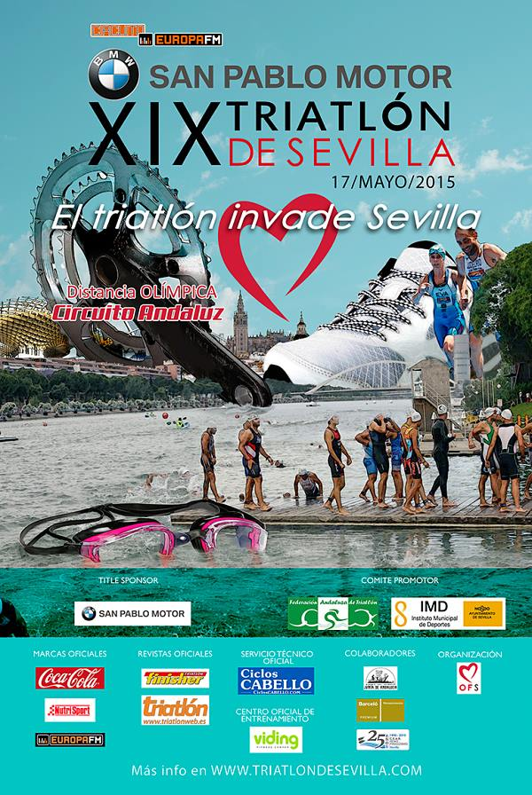 Carrera XIX Triatlón Olimpico de Sevilla