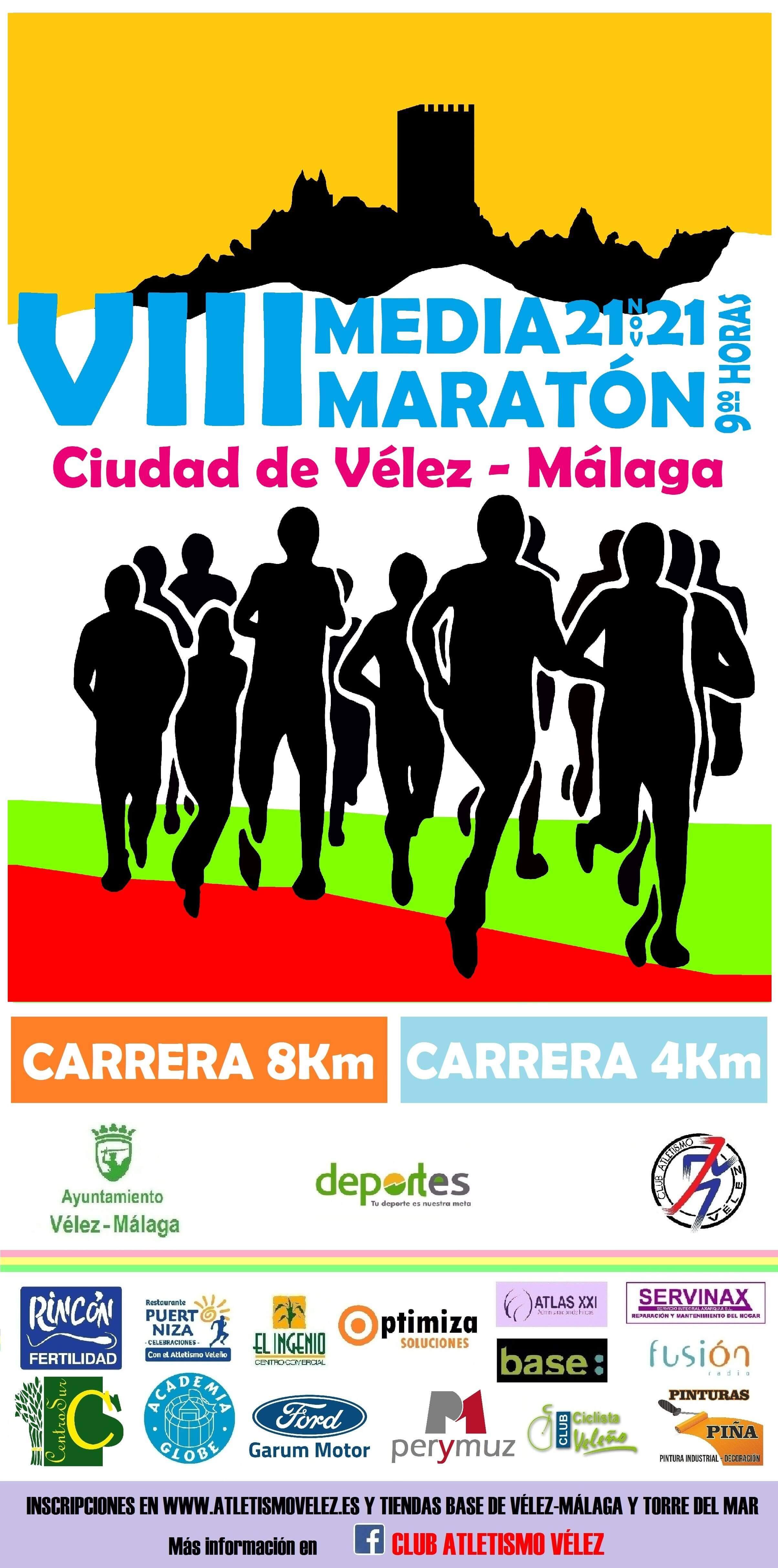 VIII Media Maratón Vélez Málaga