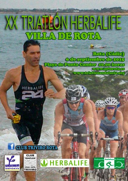 XX Triatlón Herbalife Villa de Rota
